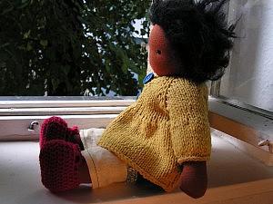 Lotte Puppe nach Waldorfart